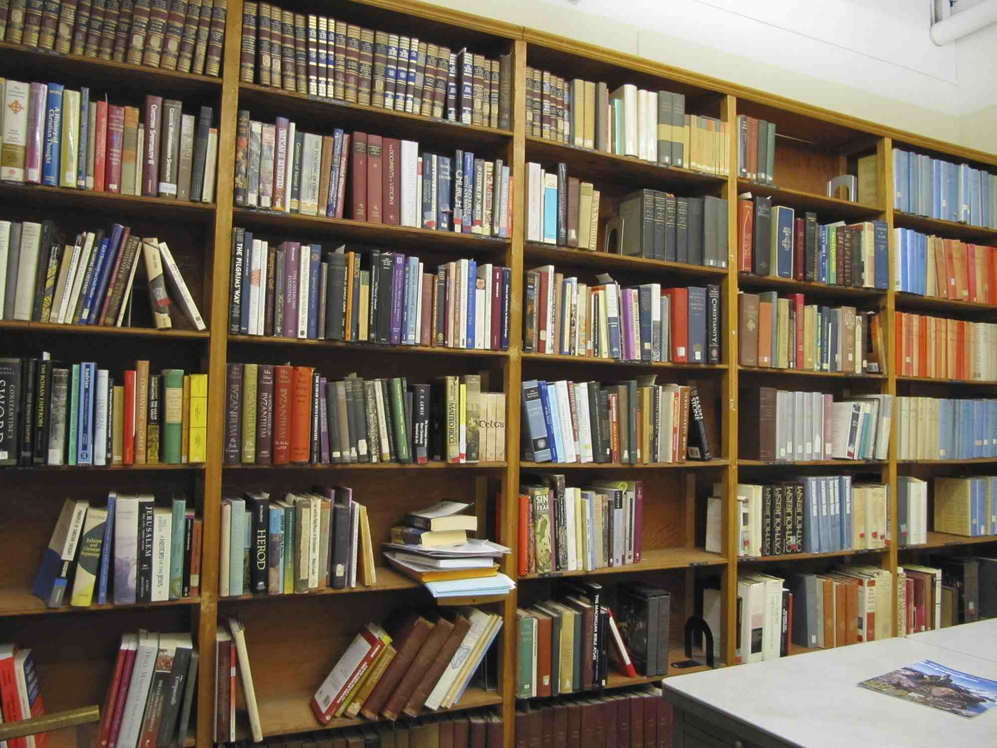 Religious libraries: a selection of sites
