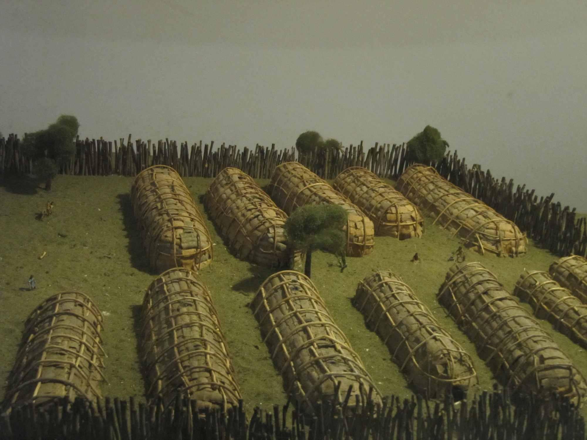 Kateri Tekakwitha (1656-1680) | Victor\'s Placemohawk village