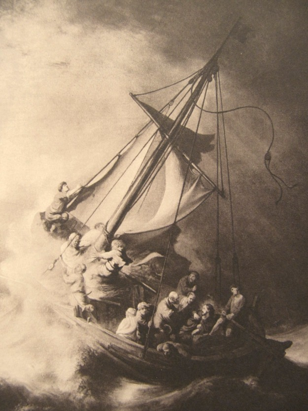 Jesus storm at sea