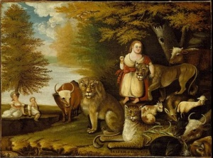peaceable kingdom copy