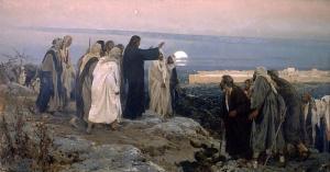 Mount of Olives Jesus