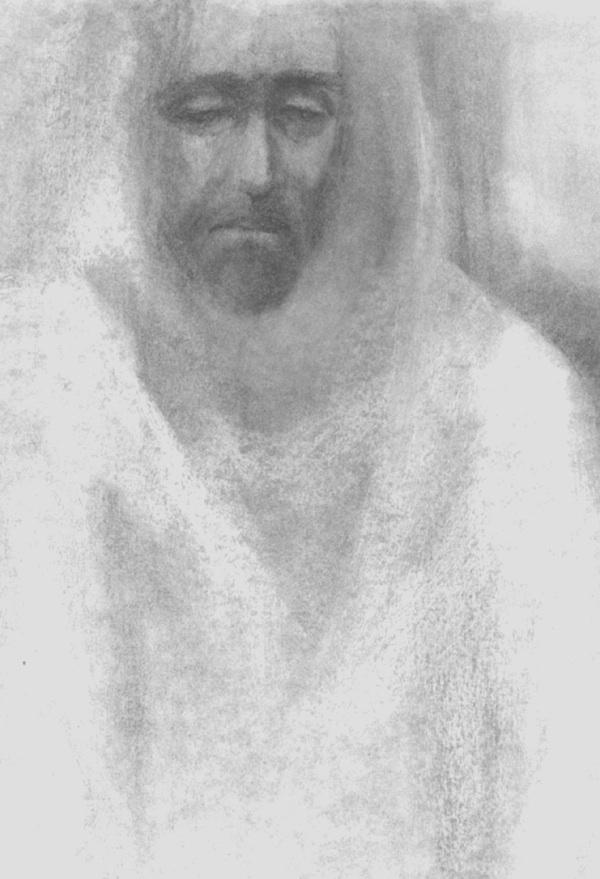 Jesus sorrowing