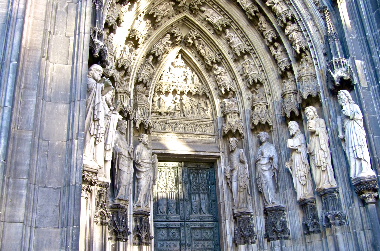 We hurry through doors because we want to get inside. But cathedral doors are not ordinary doors; they try to slow you down and get you ready for what\u0027s ... & Cologne Cathedral | The Victor\u0027s Place