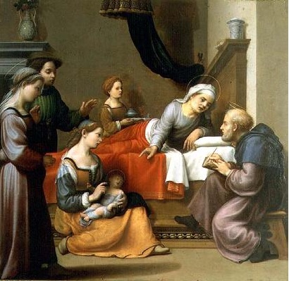 Image result for birth of john the baptist