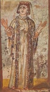 Orans, Catacomb