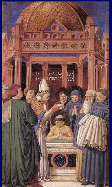 Augustine baptism