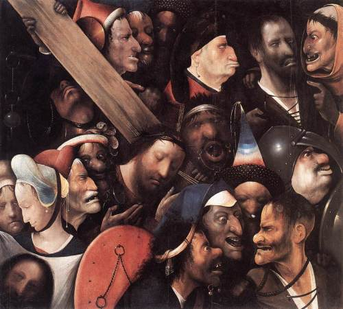 Hieronymus Bosch, Christ Carrying the Cross (1515-16)