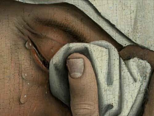 Rogier Van der Weyden deposition detail