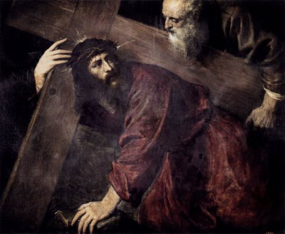 Titian (Tiziano), Christ Carrying the Cross (1565)