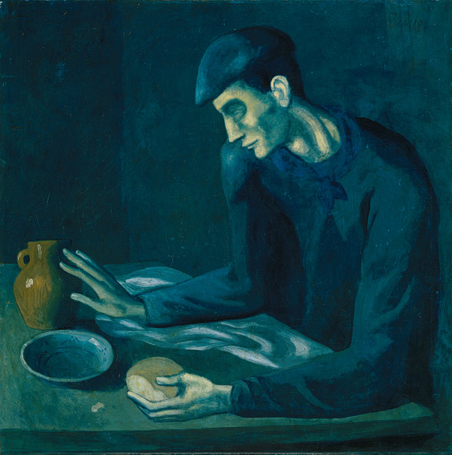 Picasso, The Blind Man's Meal, 1903