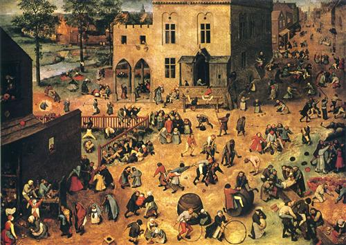 Bruegel, Children's Games, 1560