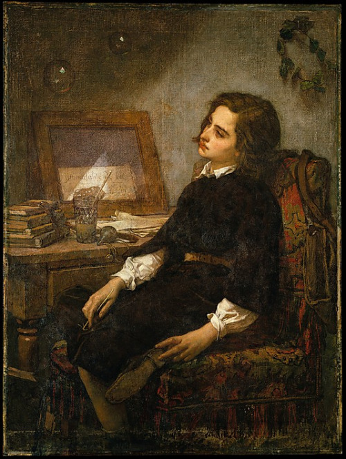 Thomas couture soap bubbles 1859