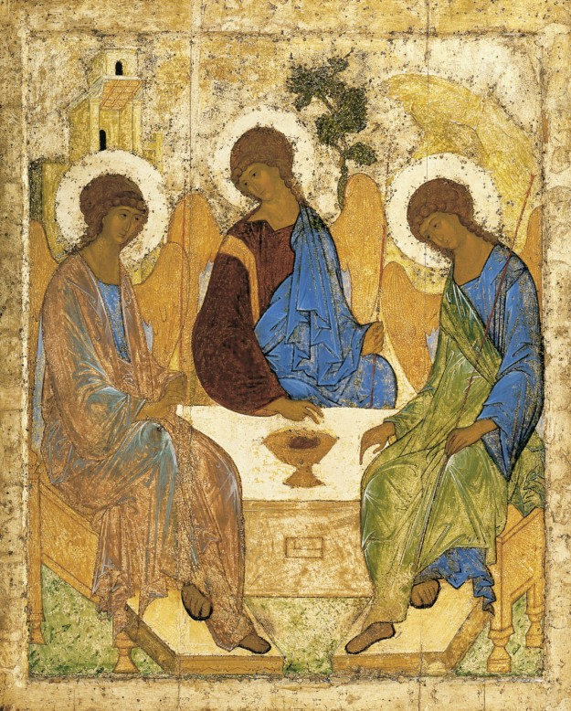 Andrei Rublev The Trinity 1411 or 1425-27
