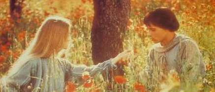 Francis and Clare from the movie Brother Sun, Sister Moon Franco Zeffirelli