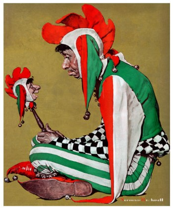 norman-rockwell-jester-february-11-1939