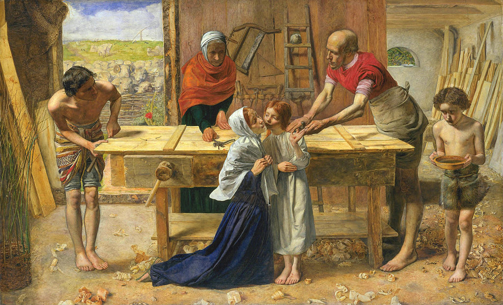Christ in the House of His Parents by John Everett Millais 1849–50