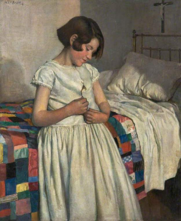 Cundell, Nora Lucy Mowbray, 1889-1948; The Patchwork Quilt