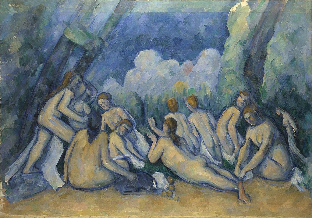 Paul Cézanne Bathers (Les Grandes Baigneuses) 1895-1905