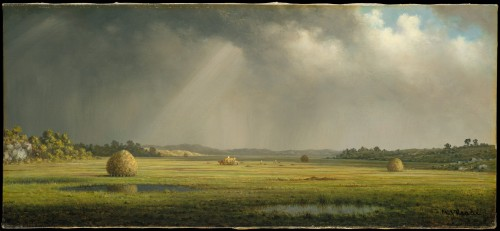 Newburyport Meadows Martin Johnson Heade ca. 1876-81