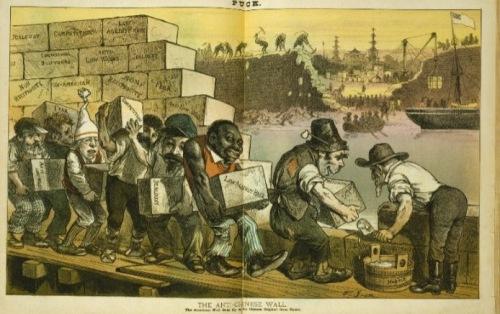 Nativist wall 1882