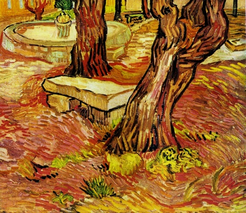 vincent-van-gogh-the-stone-bench-in-the-garden-at-saint-paul-hospital-1889