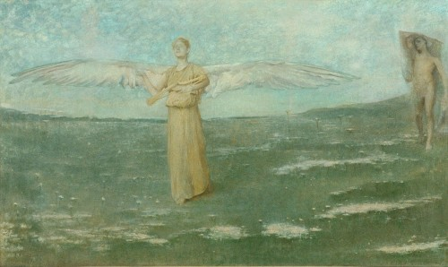 thomas-wilmer-dewing-tobias-and-the-angel-1887