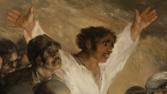 Francisco Goya, The Third of May, 1808 in Madrid, 1814-15 (detail), oil on canvas, (Museo del Prado, Madrid)