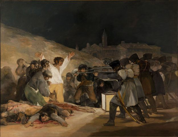 Francisco Goya, The Third of May, 1808 in Madrid, 1814-15 , oil on canvas, (Museo del Prado, Madrid)