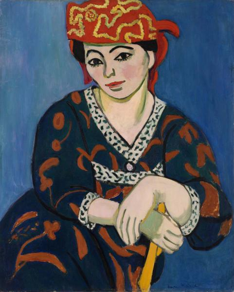 Henri Matisse Red Madras Headdress Le Madras rouge 1907