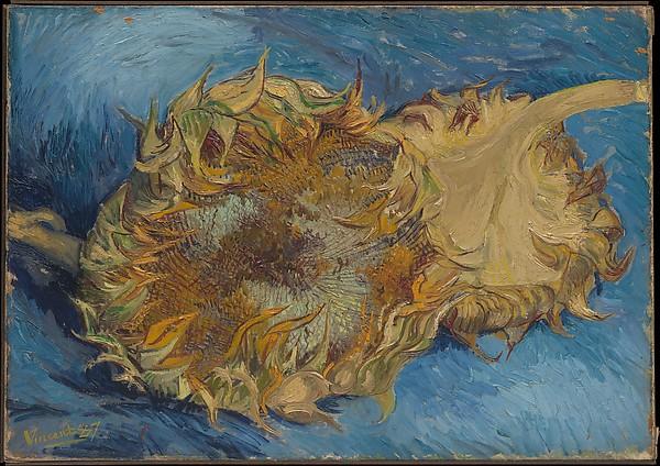 Vncent van Gogh 1887 Sunflowers Met Museum