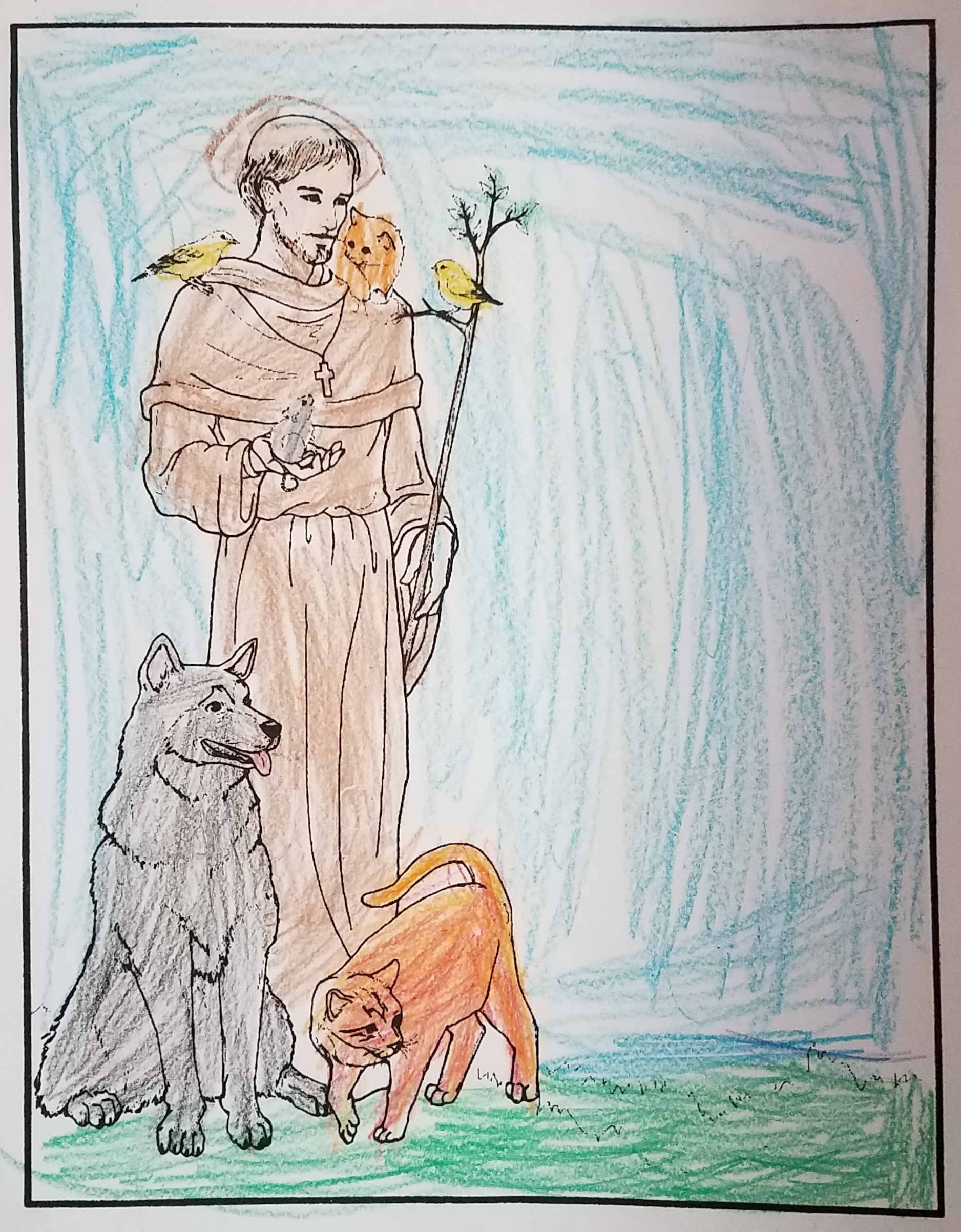Saint Francis Coloring Book Page.jpg