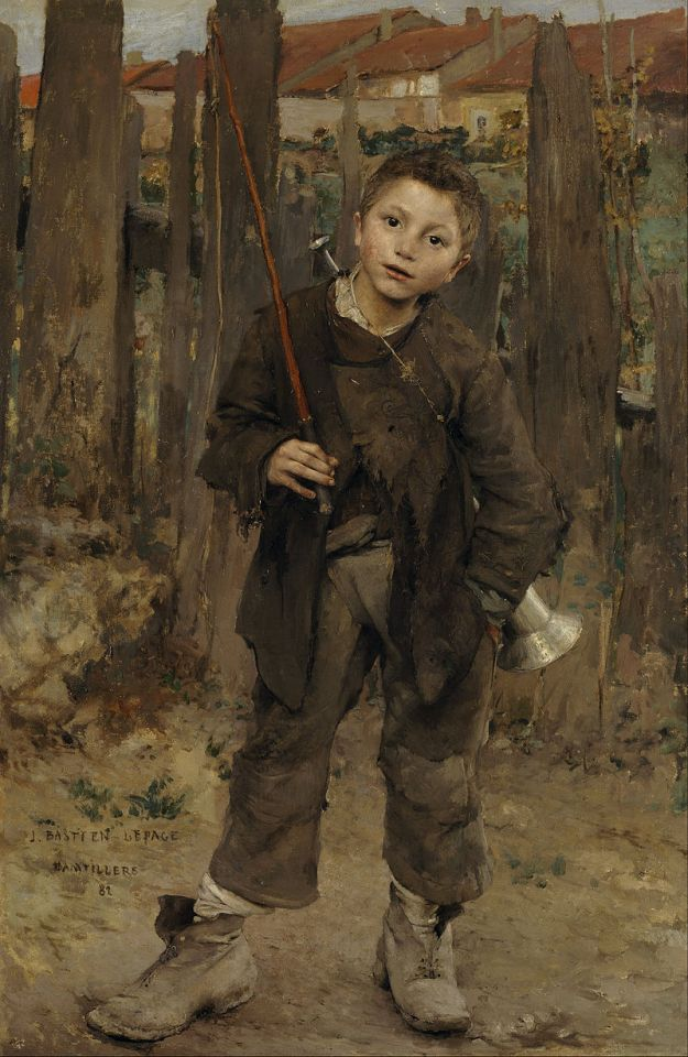 Jules Bastien-Lepage Pas Mèche (Nothing Doing) 1882 Scottish National Gallery