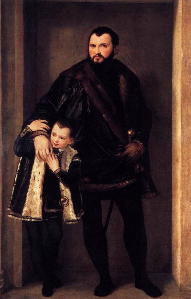 Paolo_Veronese_-_Portrait_of_Count_Giuseppe_da_Porto_with_his_Son_Adriano